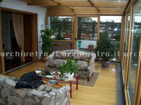 veranda in vetro copertura in vetro per veranda struttura in legno