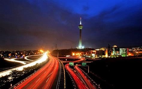 milad tower  photo  tehran east trekearth