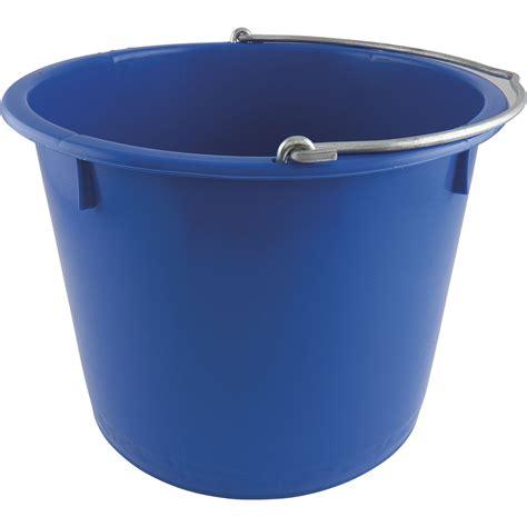 baueimer 20 liter baueimer pe blau kranbar inhalt 20 liter mit nasenb 252 gel