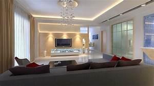 Indirekte Beleuchtung Fernseher : indirekte beleuchtung f rs wohnzimmer 60 ideen ~ Markanthonyermac.com Haus und Dekorationen