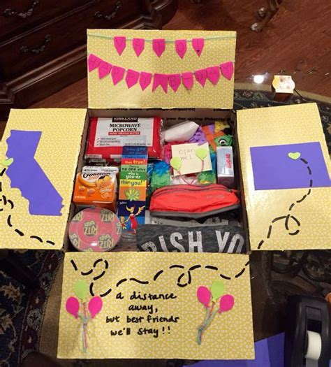 diy care package ideas for college students diybuddy
