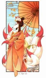Le Femme Kitsune - Kami Kitsune Okami Realm Photo ...