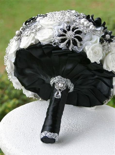 Black And White Wedding Black Wedding Bouquet Ideas