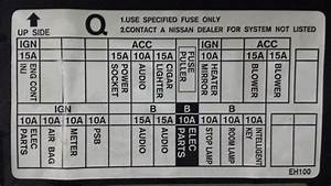 G37 Fuse Box Diagram