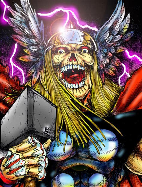 illustrations   superheroes  zombies naldz graphics