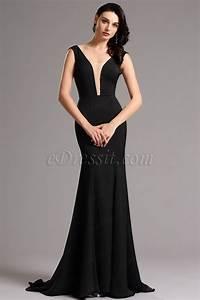 robe longue de soiree noire photos de robes With robe de soirée noire longue