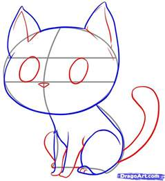 cat drawing easy how to draw an easy cat step by step pets animals free