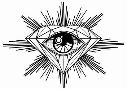 Diamond Drawing Drawings Cool Eyes Tattoo Diamonds