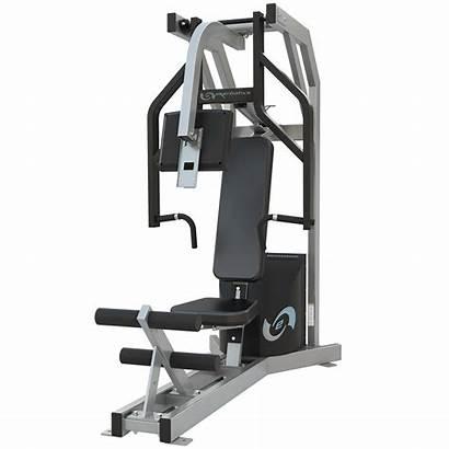 Gym Equipment Chest Press Fitness Row Machine