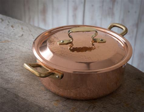 italian copper kitchenware  artisan cookware