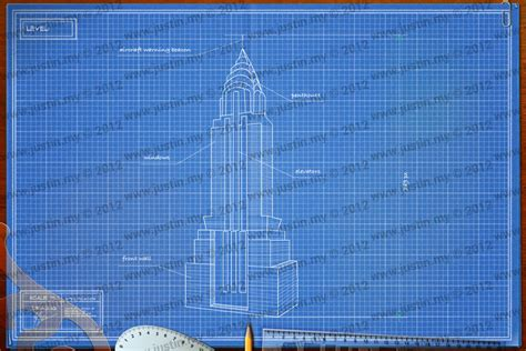 Chrysler Building Blueprint by Blueprint 3d Architecture Solutions Page 3 Justin My