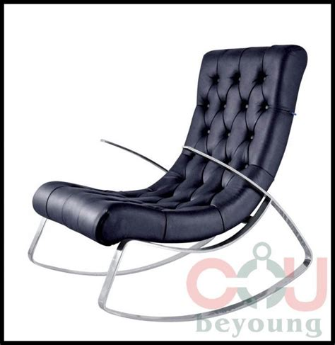 stainless steel frame rocking chair rocking recliner