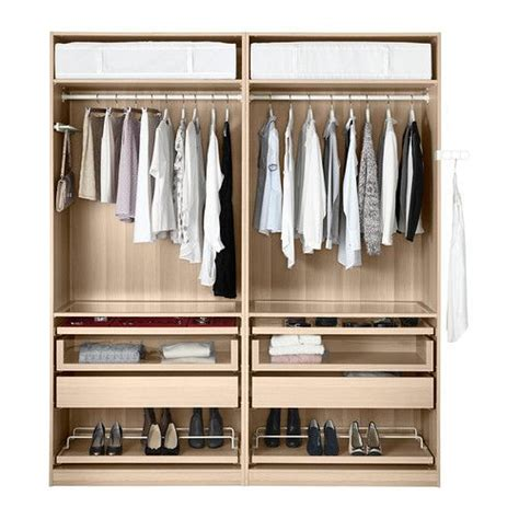 armoire penderie chambre pax wardrobe closing device ikea house ideas