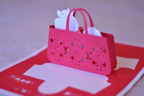 gift purse pop  card template creative pop  cards