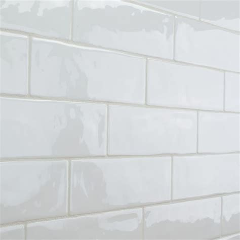 4 X 8 Glossy White Subway Tile by 1000 Ideas About White Subway Tiles On Subway