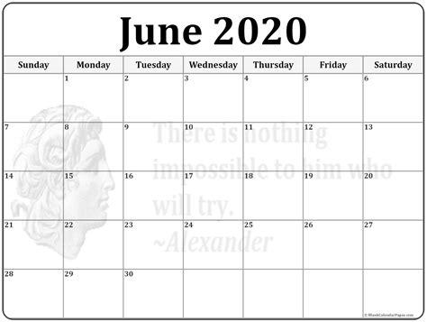 june calendar calendar templates calendars