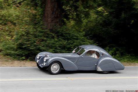 Only four of these cars were created between 1936 and 1938. 1936 Bugatti Type 57SC Atlantic Gallery | | SuperCars.net