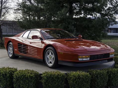 983-Mile 1988.5 Ferrari Testarossa for sale on BaT ...