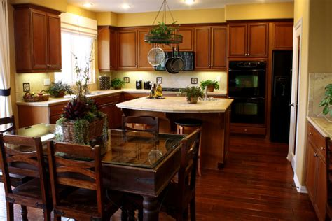 hardwood floors with dark cabinets 34 kitchens with wood floors pictures