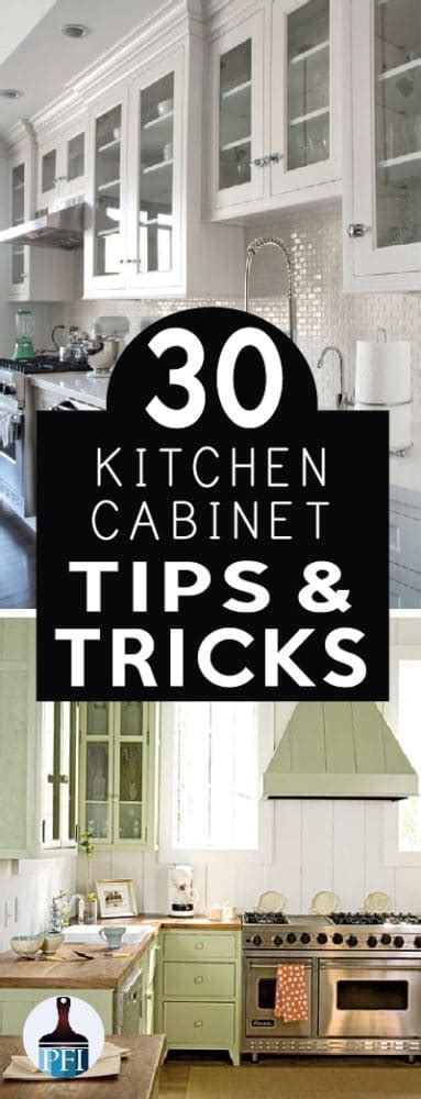 30 Kitchen Cabinet Tips & Tricks   Painted Furniture Ideas