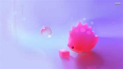 Wallpapers Pink Dino