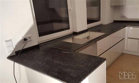 Kuchenplatte Granit by Frankfurt Granit K 252 Chenarbeitsplatten Steel Grey