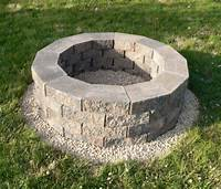 build a fire pit steps to build fire pit DIY