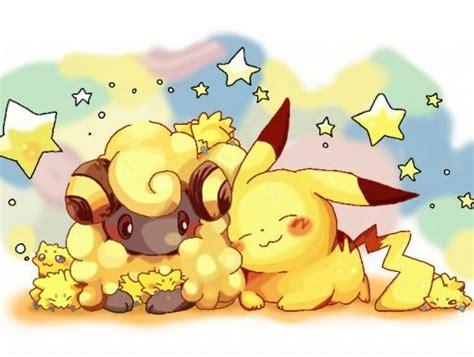 pikachu voltilamm wattzapf pokemon pokemon anime serien und zeichentrick