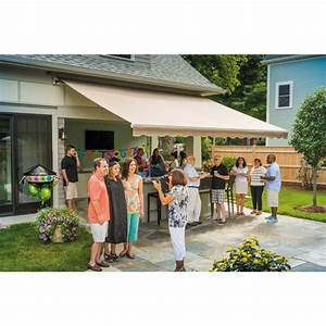 Sunsetter U00ae Manual  Motorized And Xl Retractable Awnings
