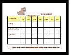 HD wallpapers printable dog care chart