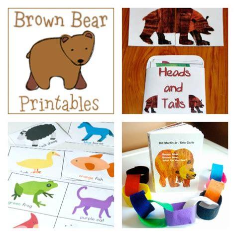 brown brown activities for preschoolers 623 | BB literacy collage