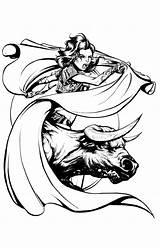 Matador Drawing Quickly Getdrawings Joel Vollmer Approaching April sketch template