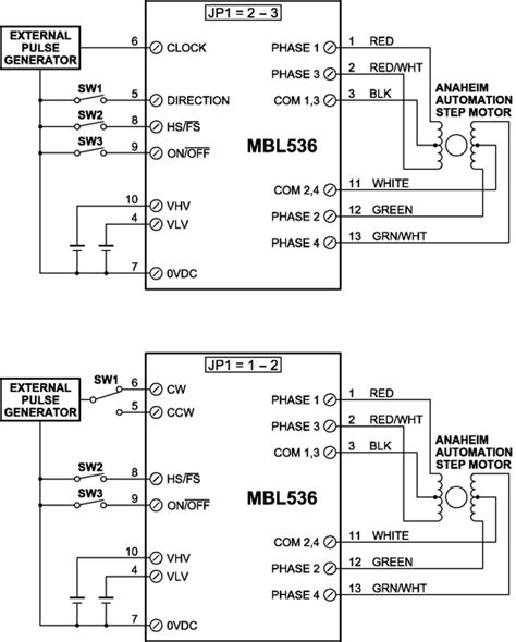 Mbl Current Range Stepper Drivers With