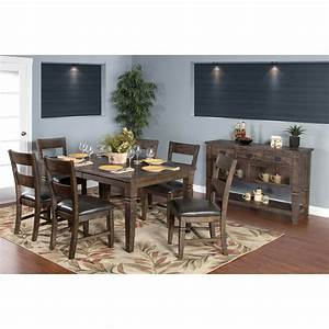 sunny designs homestead 7 piece extension dining table set With homestead furniture and appliances