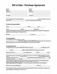 boat partnership agreement template - 10 best images of equine purchase and sales agreement