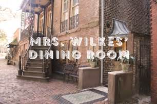 mrs wilkes dining room downtown