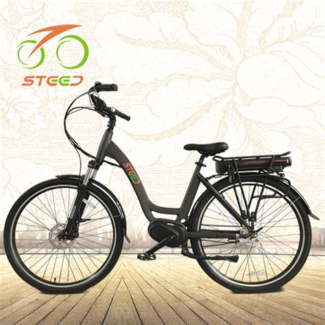 Electric Motors Europe by New Model 250w Motor City Mid Drive Electric Bike For
