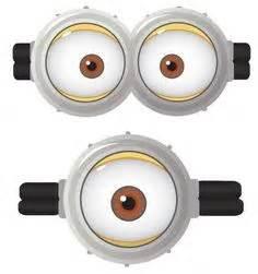 free minion printable eyes minion bday pinterest eye With minion eyes template