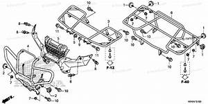 Honda Atv 2017 Oem Parts Diagram For Carrier