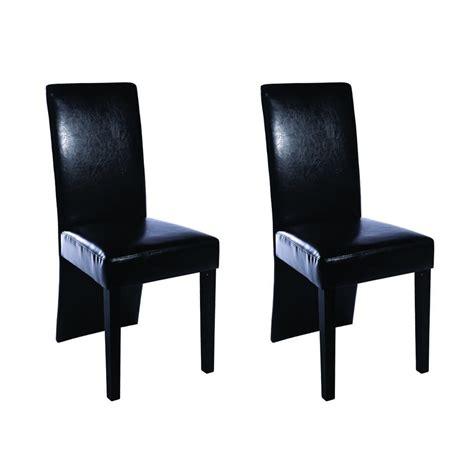 chaise design noir la boutique en ligne chaise design bois noir lot de 2 vidaxl fr