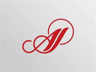 Akash Jewellers Aj Ajay Monogram Initials Logos