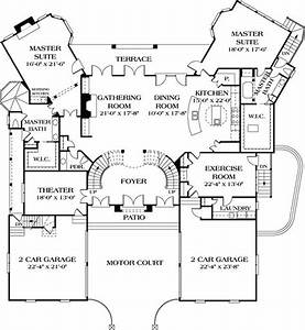 44 best dual master suites house plans images on pinterest for Double master suites house plans