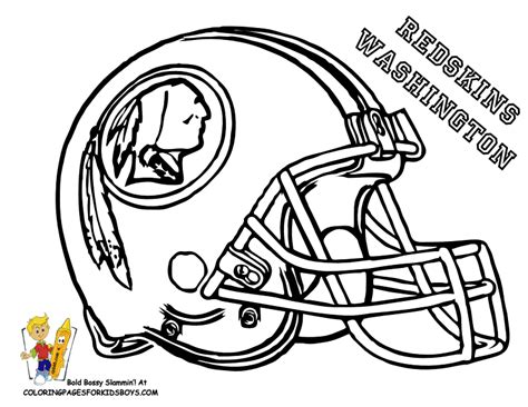 College Football Helmets Coloring Pages
