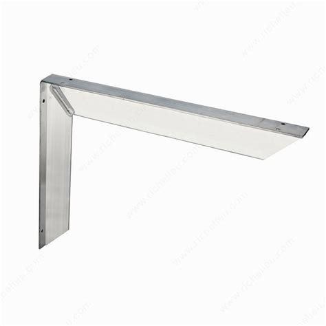 countertop supports heavy duty countertop bracket richelieu hardware
