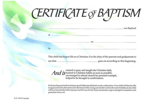 Baptism Certificate Template Free by 10 Best Projects To Try Images On Certificate