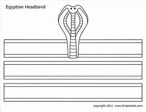 Egyptian Headband Templates
