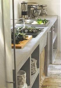 39, Minimalist, Concrete, Kitchen, Countertop, Ideas