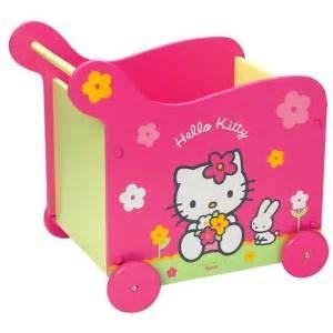 Coffre A Jouet A Roulette : coffre jouets roulettes hello kitty fun house la ~ Teatrodelosmanantiales.com Idées de Décoration