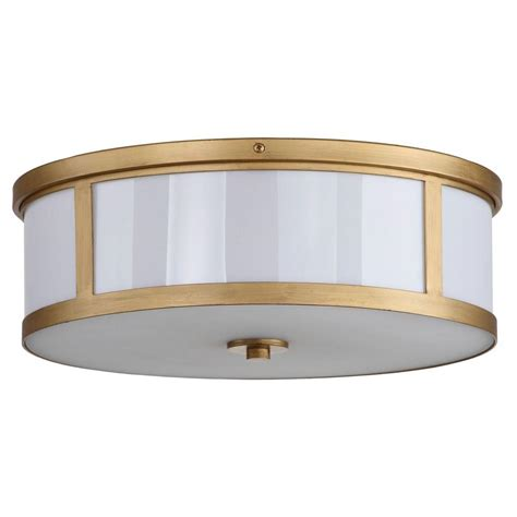 Home Depot Drum Light by Safavieh Avery Ceiling Drum 2 Light Antique Gold