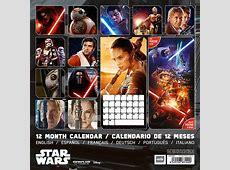 Star Wars VII Calendars 2018 on Abposterscom